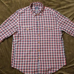 J Crew Herringbone Flannel Shirt